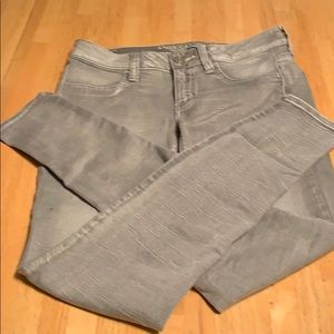 American Eagle Outfitter's super stretch jeans